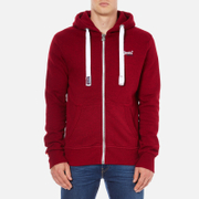 Superdry Men's Orange Label Zip Hoody - Redhook Grit