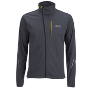 Jack Wolfskin Men's Wolf Trail Softshell Jacket - Ebony