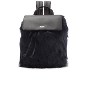Karl Lagerfeld Women's K/Pop Fuzzi Backpack - Black