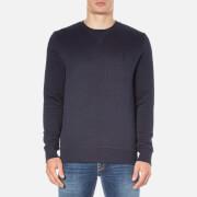Calvin Klein Men's Hatch Crew Neck Sweatshirt - Night Sky Heather