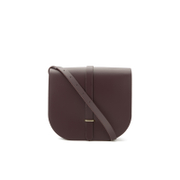 The Cambridge Satchel Company Women's Large Saddle Bag - Damson