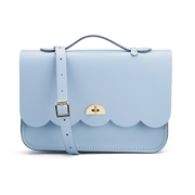 The Cambridge Satchel Company Women's Cloud Bag with Handle - Periwinkle Blue