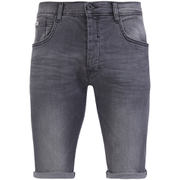 Crosshatch Men's Skylo Denim Shorts - Grey Wash