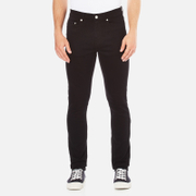 Wood Wood Men's Alva Slim Fit Stretch Jeans - Black