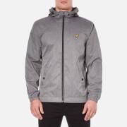 Lyle & Scott Men's Zip Through Hooded Jacket - Grey Marl