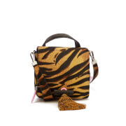 KENZO Women's Runway Small Top Handle Bag - Leopard