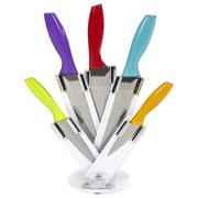 Ciclour MCK24023 Cook in Colour Knife Block - Multi (5 Piece)
