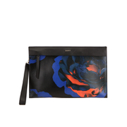 DKNY Women's Cosmic Rose Clutch Bag - Black/Ink/Scarlet