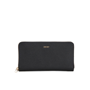 DKNY Women's Bryant Park Large Zip Around Purse - Black