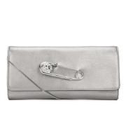 Versus Versace Women's Clutch Bag - Dark Silver/Silver