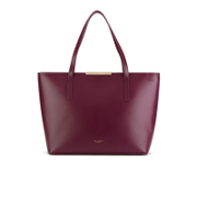 Ted Baker Women's Jailee Printed Lining Shopper Tote Bag - Grape