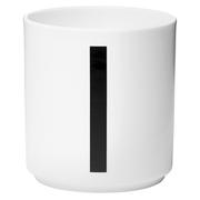 Design Letters Porcelain Cup - I