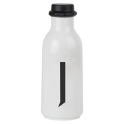 Design Letters Water Bottle - J