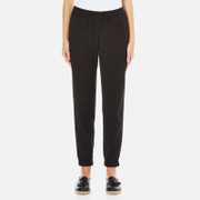 French Connection Women's Dolly Drape Joggers - Black
