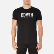 Edwin Men's Logo Type 2 T-Shirt - Black