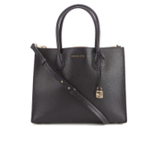 MICHAEL MICHAEL KORS Women's Mercer Large Messenger Tote Bag - Black