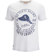 Tokyo Laundry Men's Reeves Point T-Shirt - Eggshell