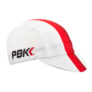 PBK Technical Cycling Cap - White