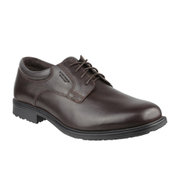 Rockport Men's Essential Details Waterproof Plain Toe Shoes - Brown