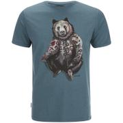 Animal Men's Hipster T-Shirt - Hydro Blue Marl