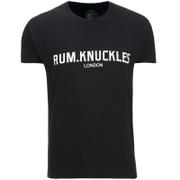 Rum Knuckles Mens London T-Shirt - Zwart
