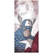 "Americas Captain Captain America Fine Art Print - 16.5"" x 9.7"""