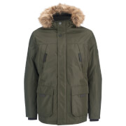 Jack & Jones Men's Core Hollow Parka Jacket - Rosin