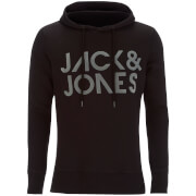 Jack & Jones Men's Core Sharp Hoody - Black
