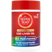 Seven Seas Cod Liver Oil Plus Multivitamins - 30 Capsules