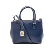 Lauren Ralph Lauren Women's Newbury Mini Zip Satchel - Navy