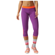 adidas Women's Stella Sport 3/4 Training Tights - Purple