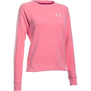 Under Armour Women's Favourite Fleece Crew Sweatshirt - Knock Out