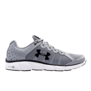 Under Armour Men's Micro G Assert 6 Running Shoes - Steel/White/Black