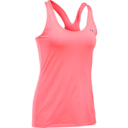 Under Armour Women's HeatGear Armour Racer Tank - Brilliant Pink/Metallic Silver