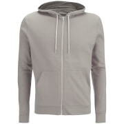 Brave Soul Men's Adrian Zip Through Hoody - Plaster