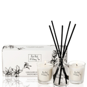 Stoneglow Rose Petal and Oolong Tea Candle and Reed Gift Set