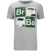 Breaking Bad Men's Square T-Shirt - Light Grey Marl