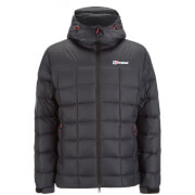 Berghaus Men's Popena Hooded Hydrodown Fusion Jacket - Black