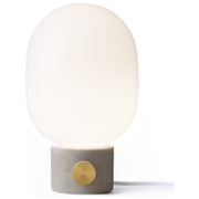 Menu JWDA Concrete Lamp - Light Grey/Brass