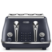 DeLonghi Elements Four Slice Toaster - Blue
