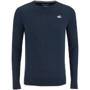 Le Shark Men's Union Cotton Crew Neck Jumper - Dark Navy