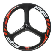 Fast Forward 3 Spoke Rear Track Wheel - Tubular
