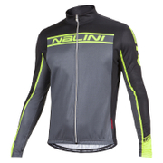 Nalini Confine Ti Long Sleeve Jersey - Black/Fluro Yellow