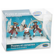 Papo Pirates and Corsairs: Display Box Pirates and Corsairs (3 Figurines)