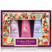 Crabtree & Evelyn Florals Hand Therapy Sampler 3x25g (Worth £18.00)