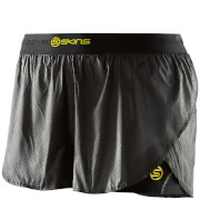 Skins DNAmic Women's Superpose Shorts - Black/Limoncello