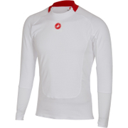 Castelli Prosecco Long Sleeve Base Layer - White