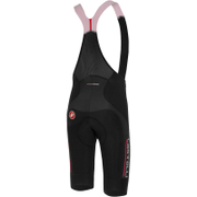 Castelli Omloop Thermal Bib Shorts - Black/Red