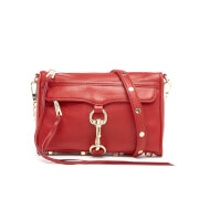 Rebecca Minkoff Women's Mini M.A.C. Cross Body Bag - Deep Red