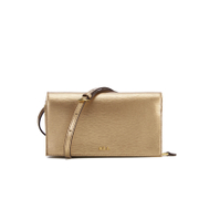 Lauren Ralph Lauren Women's Newbury Cross Body Bag - Gold